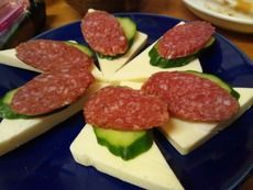 チーズサラミ 380円