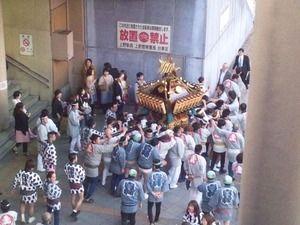 下谷神社大祭 神輿