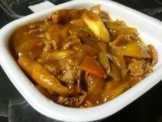 カレー南蛮牛丼(並)
