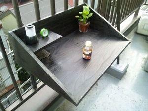 自作 ガーデンテーブル