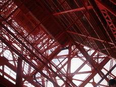 東京タワー昇り階段から途中から