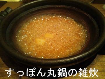 すっぽん丸鍋の雑炊