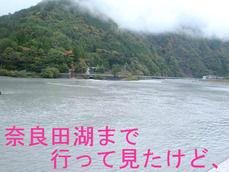 奈良田湖まで行って見たけど、