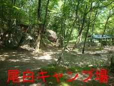 尾白キャンプ場