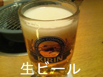 生ビール ジョッキ