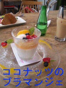 ココナッツのブラマンジェ