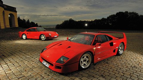 F40 and 959