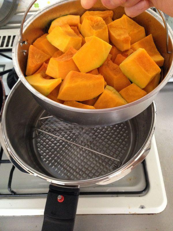 圧力 鍋 かぼちゃ の 煮物