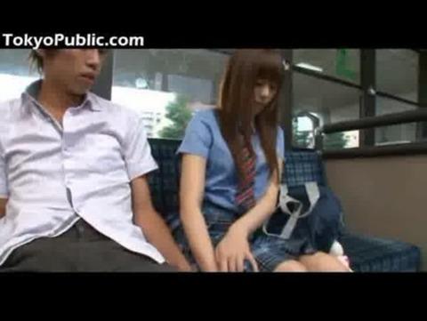 瑠川リナ/バスの中でフェラし出すJKww