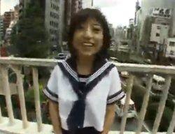 リナ - 女子校生を街中で攻め立てる変体的快楽