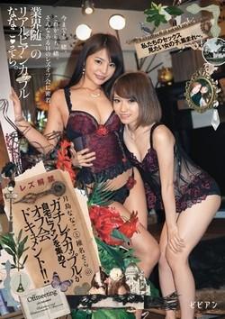 AV女優・月島ななこ&椎名そら作品のパッケージ