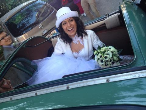 ナポリ結婚ウエディング、花嫁ドレスと花婿スーツ当日のお楽しみ