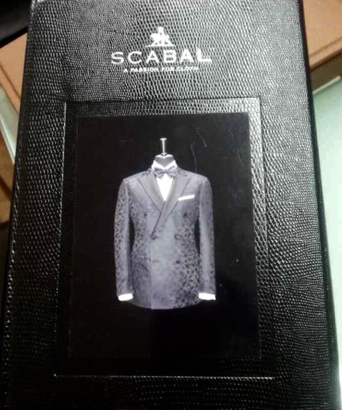 SCABALスカバル礼服フォーマルスーツ