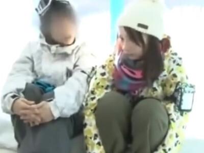 ゲレンデでナンパした激カワな彼女が、彼氏の前でエロマッサージからの中出し寝取りパコされちゃう!