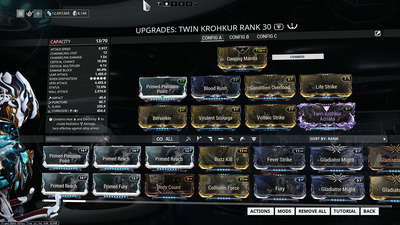 Warframe_TwinKrohkur_build