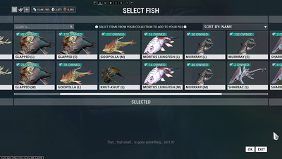 Warframe_Fish_Collection