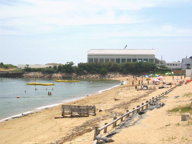 田ノ代海岸海水浴場1