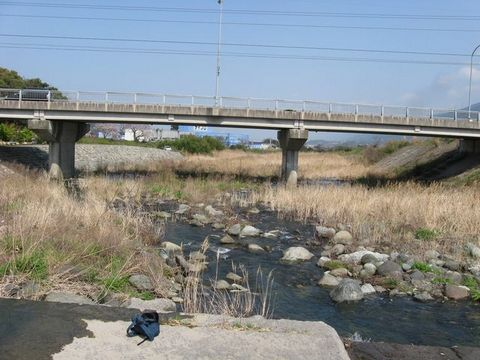 関川と北野橋