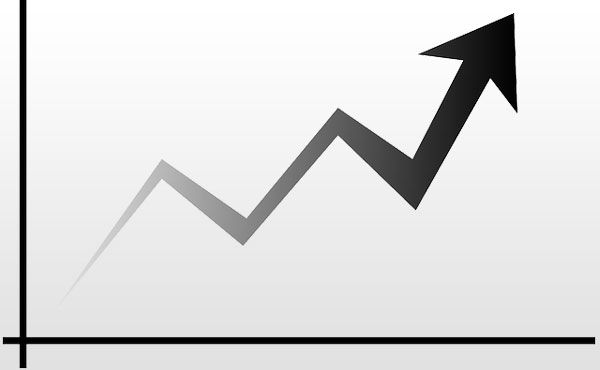 日経平均株価 1000円近い急騰