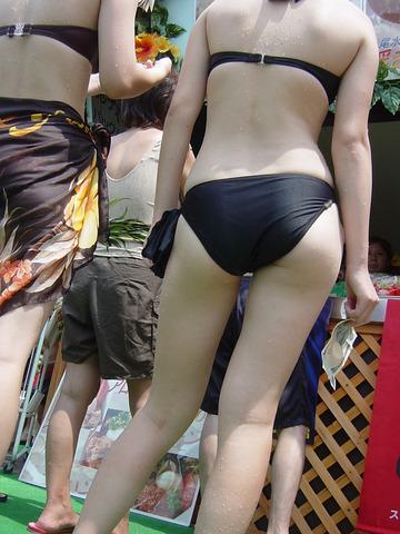 【素人水着】夏が待ちどうしい!! 浜辺・プールサイドの楽しみ方。。素人水着画像 45枚