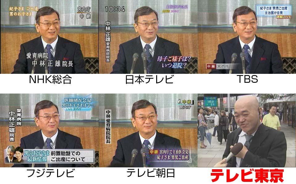 紀子様ご出産で高橋名人が街頭インタビューされる!!!その2