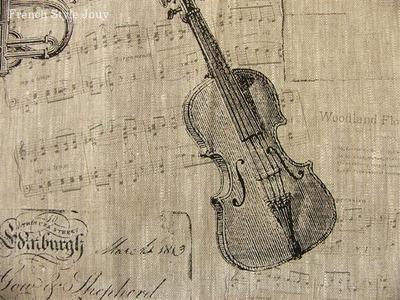 フランス麻生地バイオリン
