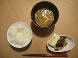 2012/4/3朝ご飯