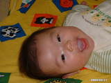 生後4ヶ月ニコニコ