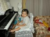 2004 8月 ピアノ始めたよ!2
