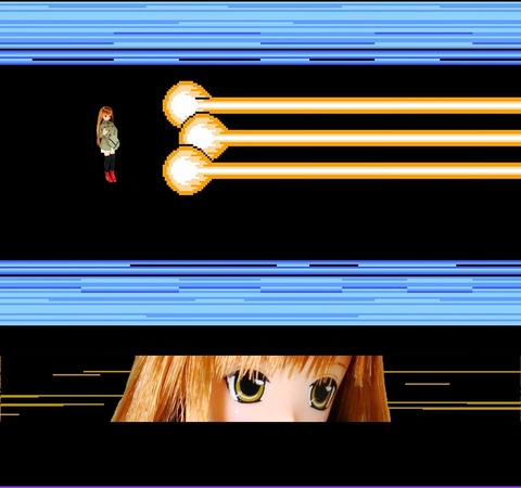 激神リセ&リアン 戦闘画面1