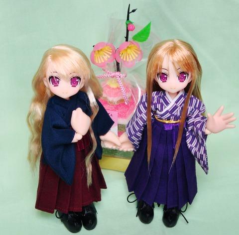 双子ヴェル 雛祭り2019 (5) トリミング