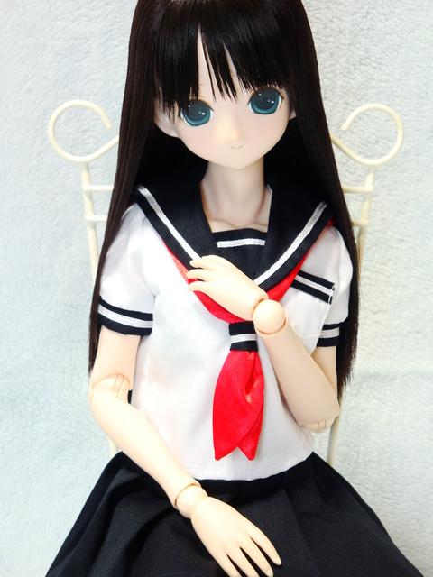 エレン セーラー服 夏服 (4)