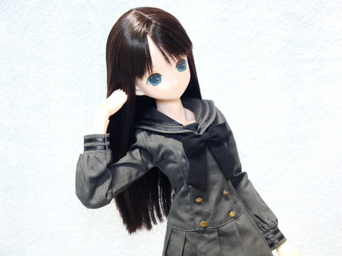 エレン ギムナジウムセーラーワンピ 黒 (1)