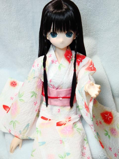 エレン 浴衣~蝶と朝顔~ (2)
