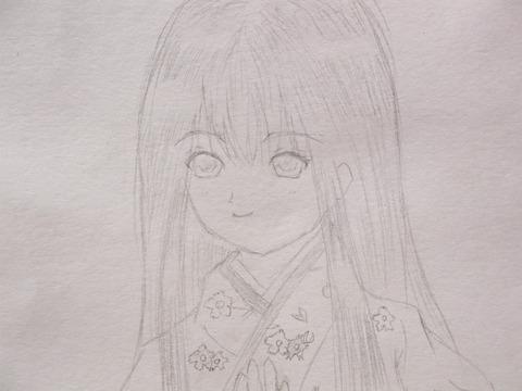 エレン線画 (2)
