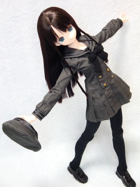 エレン ギムナジウムセーラーワンピ 黒 (15)