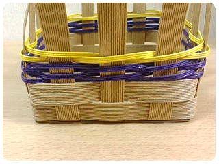 追いかけ編み段差5