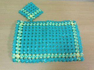 PP石畳編みランチョンマット3