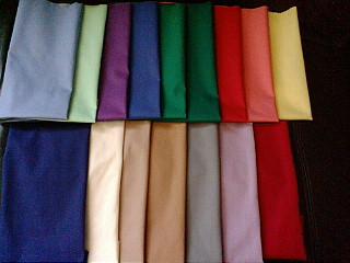 カラー分析用布