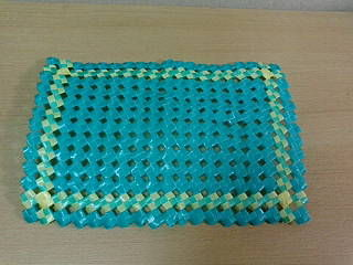 PP石畳編みランチョンマット1