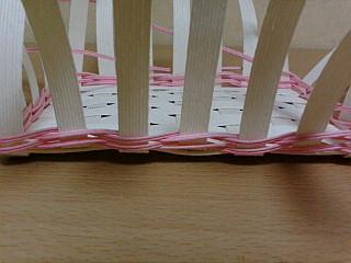 右ねじり編み 3