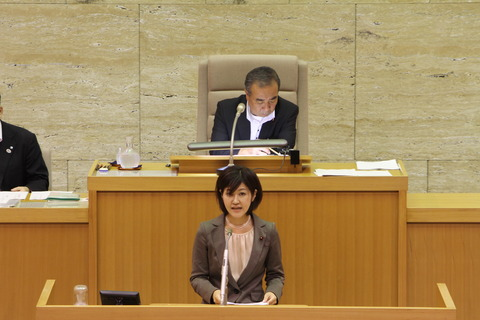 議会登壇写真
