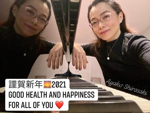 ayako new year greeting pic 2021
