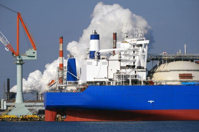 貨物船タンクローリー