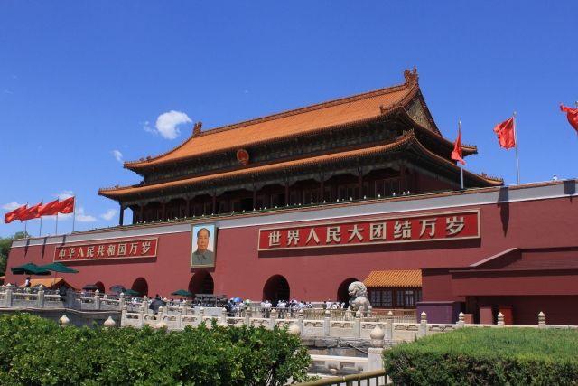 中国天安門広場