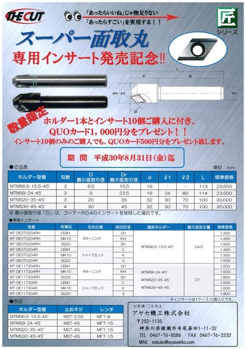 ザカット THECUT スーパー面取丸 (1)
