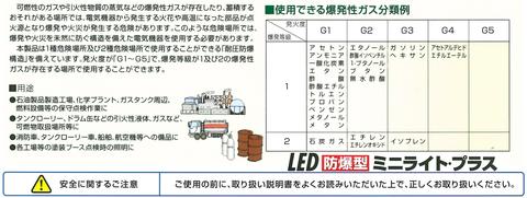 ㈱ハタヤリミテッド LED防爆型 ミニライトプラス(6)