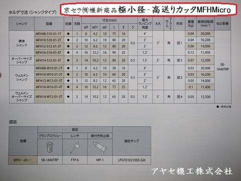 京セラ極小径高送りカッタMFHMicroアヤセ機工 (9)