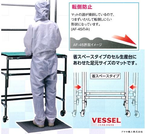 導電疲労軽減マット ベッセル (おすすめ)