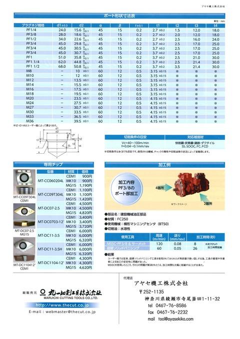 ザカット シート面カッター MSSC アヤセ機工 (2)